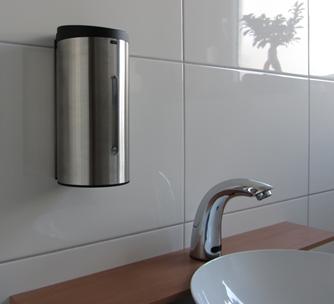 sensor seifenspender edelstahl 304 f r wandbefestigung. Black Bedroom Furniture Sets. Home Design Ideas